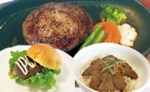石垣牛バーガー 石垣牛ハンバーグステーキ 石垣牛カルビー&ロース丼