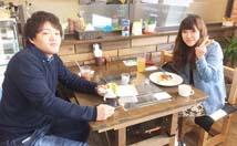 東京よりいしいカップル タコライス ハンバーガー