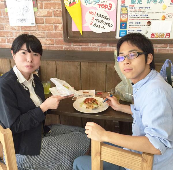 石垣牛ハンバーガー タコライス
