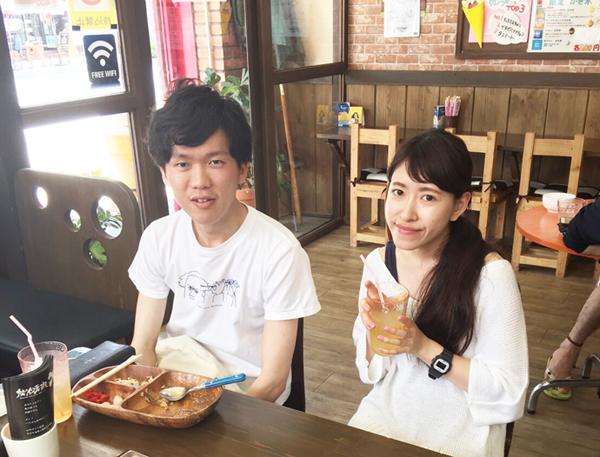 カレー カルビー&ロース丼