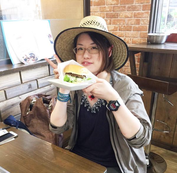 石垣牛ハンバーガー ポテト