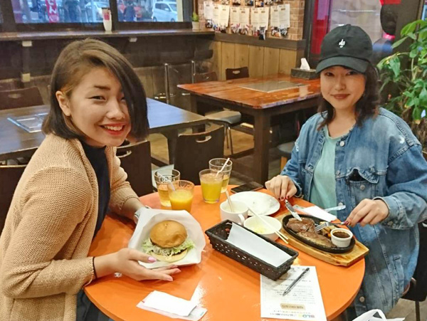 ハンバーガー 和牛ステーキ