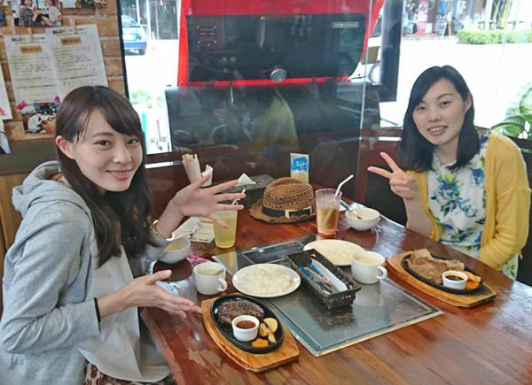 石垣牛ステーキ ハンバーグステーキ