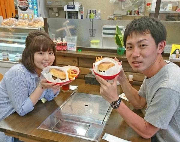 石垣牛ハンバーガーセット